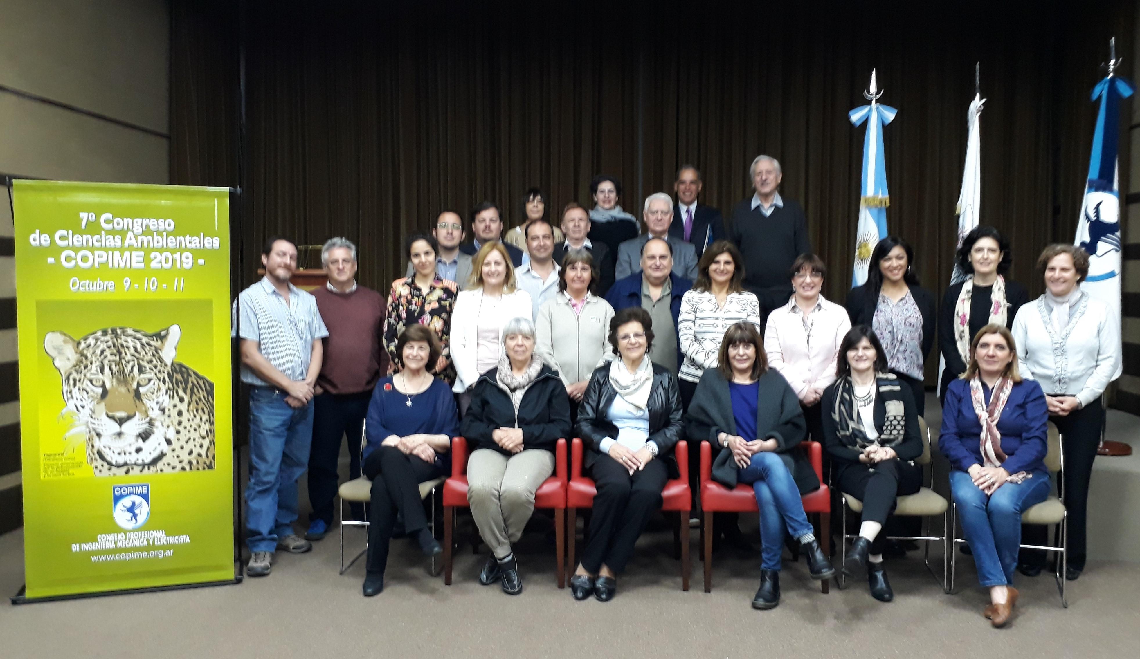 La UBP presente en la organización del Congreso de Ciencias Ambientales