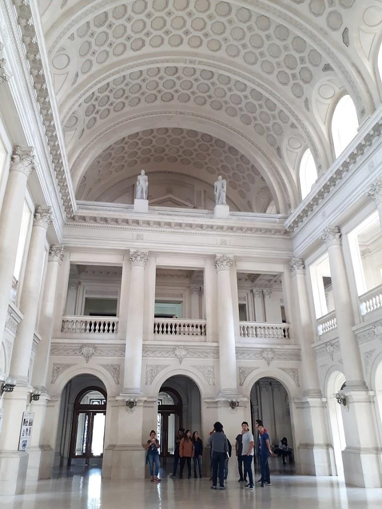 Alumnos visitan el Palacio de Justicia
