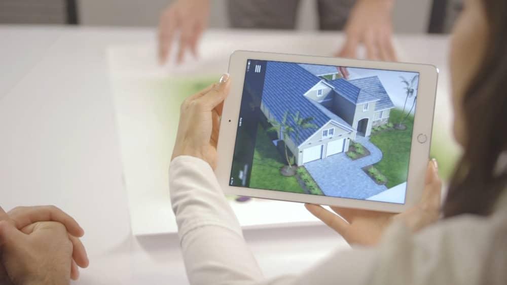 Impactante muestra de arquitectura con realidad aumentada