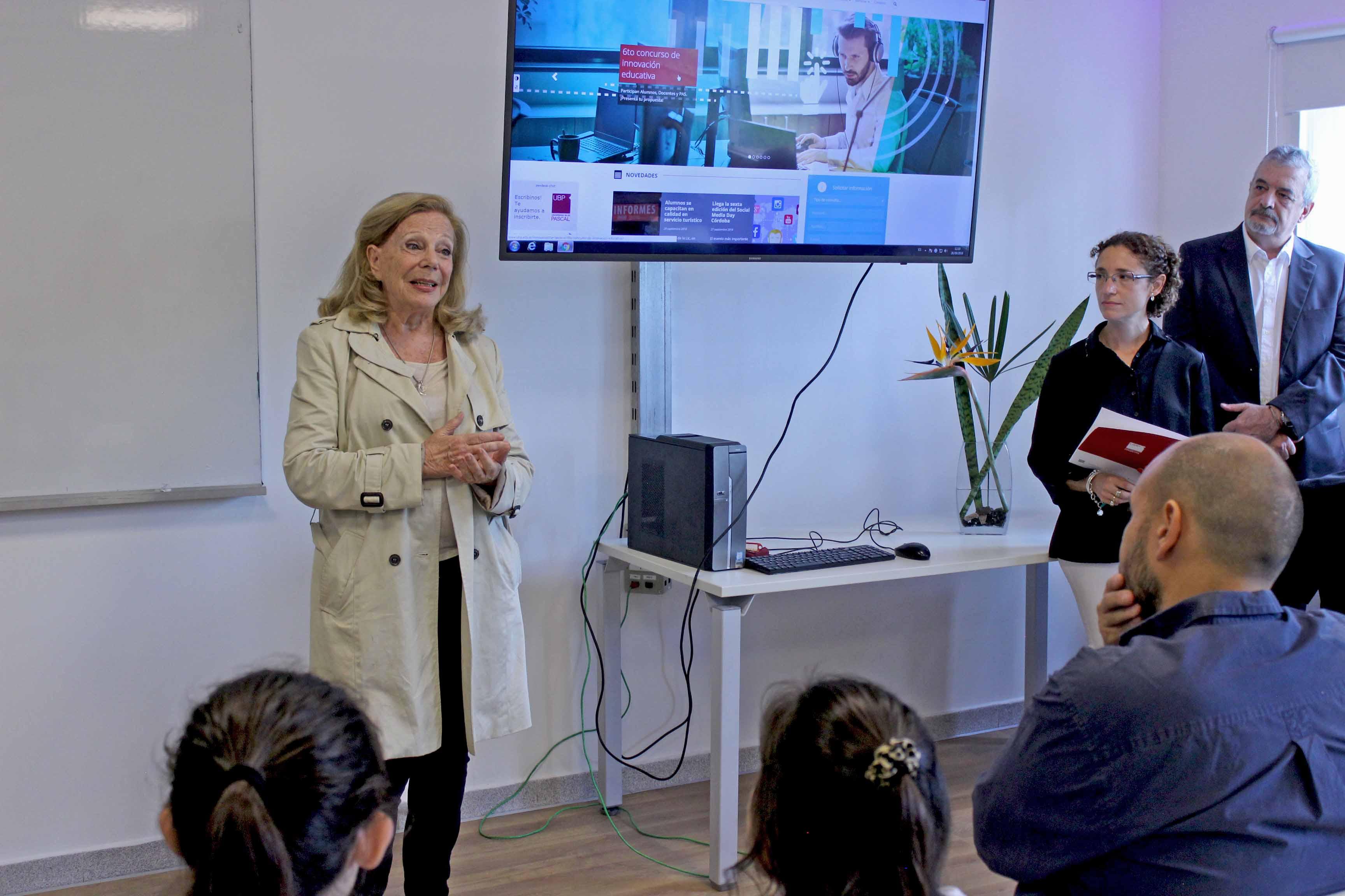 Se inaugura el aula Viviana Cafure