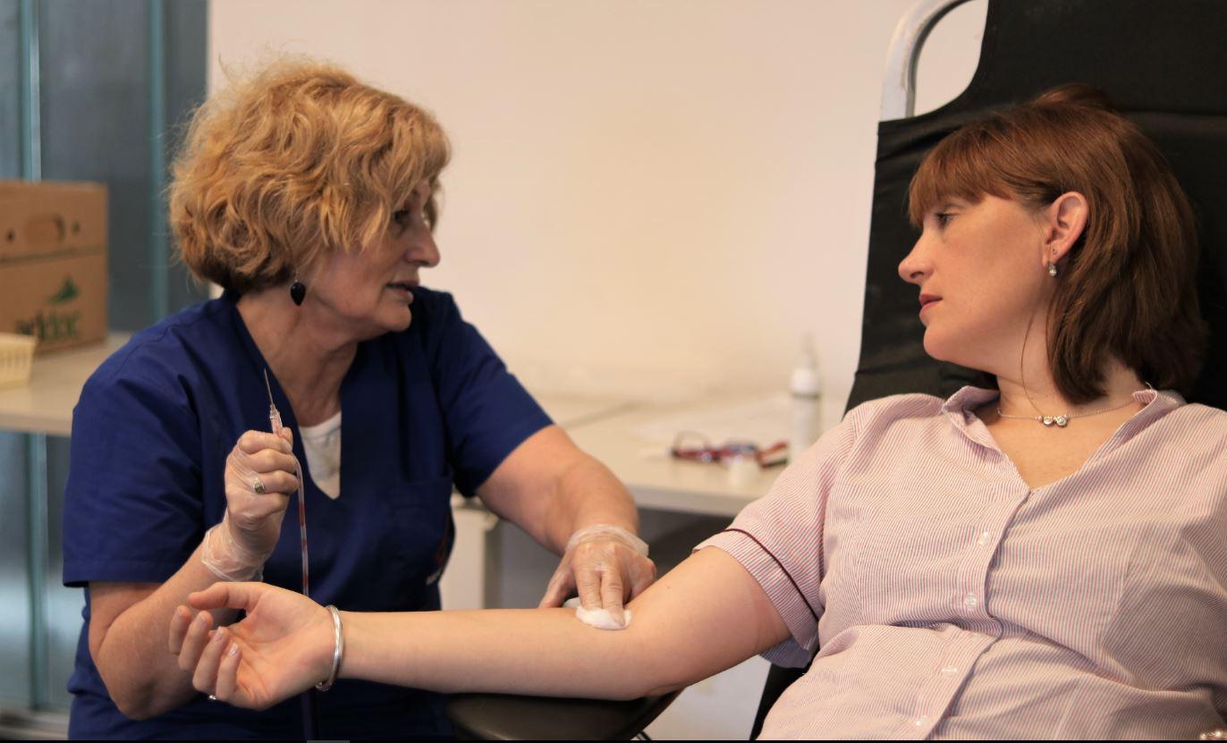 Campaña de donación: sangre segura para todos