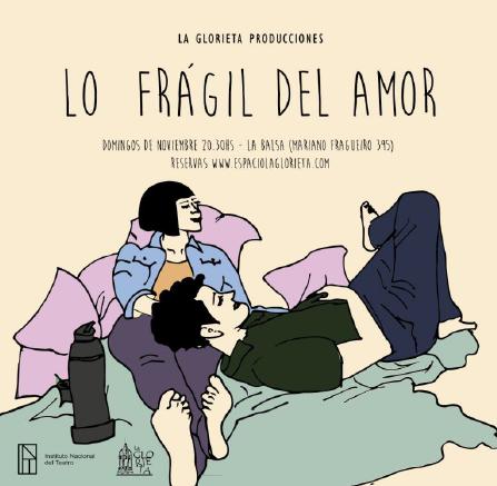 """Lo frágil del amor"""