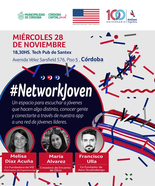 ¡Sumate al #NetworkJoven de AmCham!