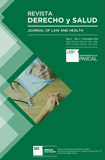 ¡Ya está disponible la 2da edición de la Revista Derecho y Salud!