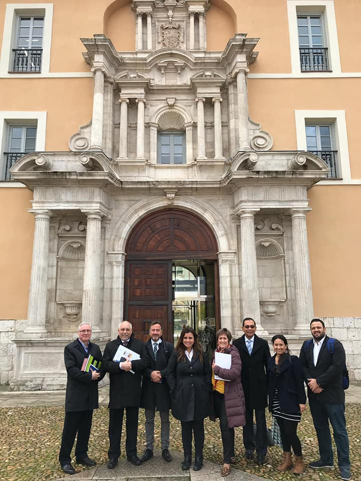 La UBP fortalece vínculos con España