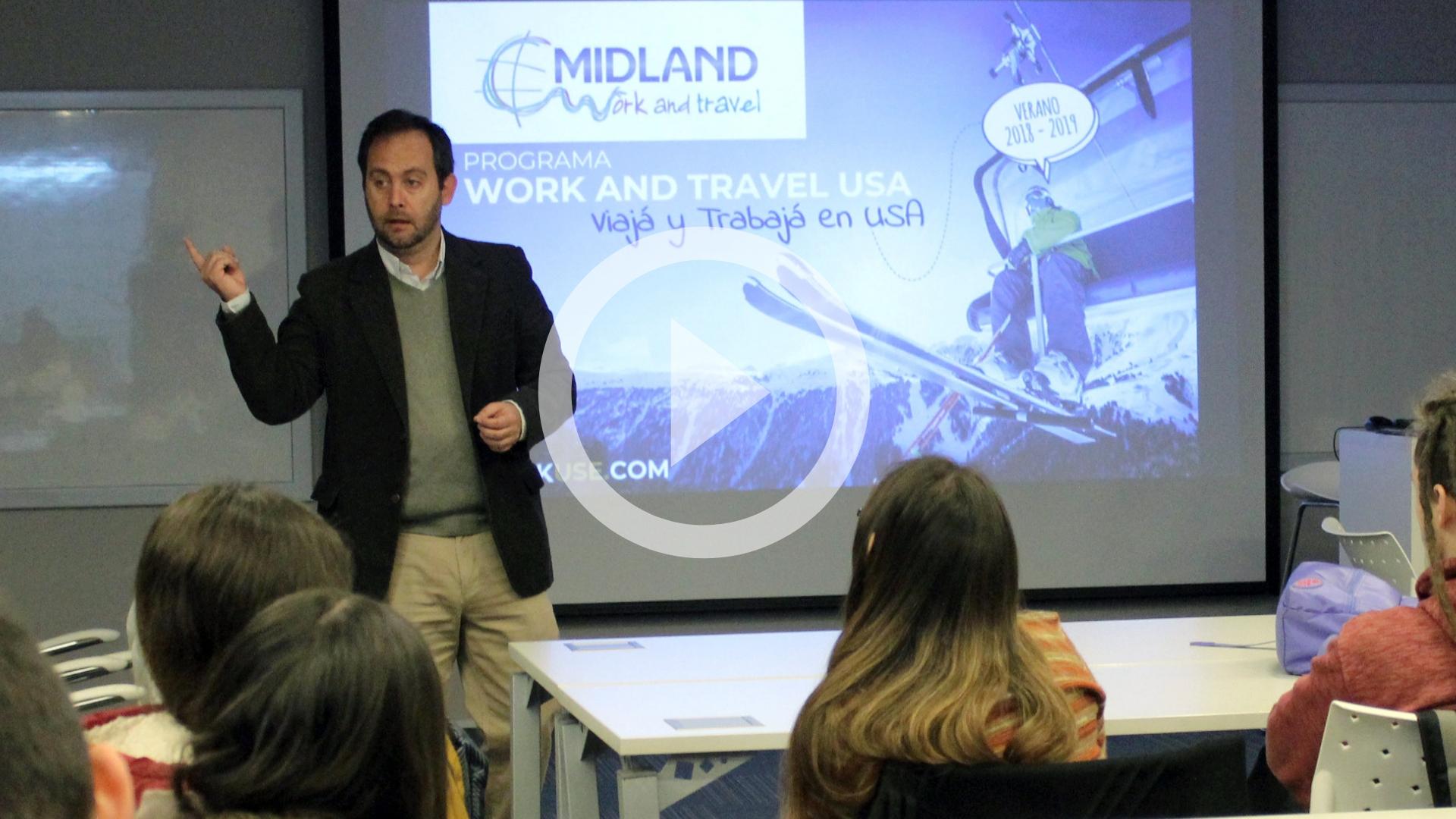 Egresado es CEO de Midland Travel