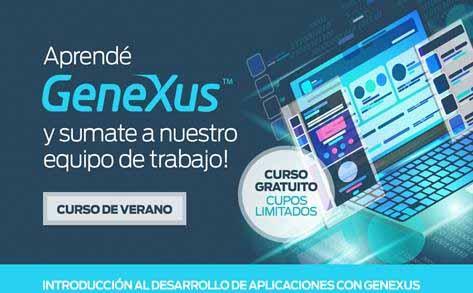 Desarrolladores: aprendé sobre GeneXus