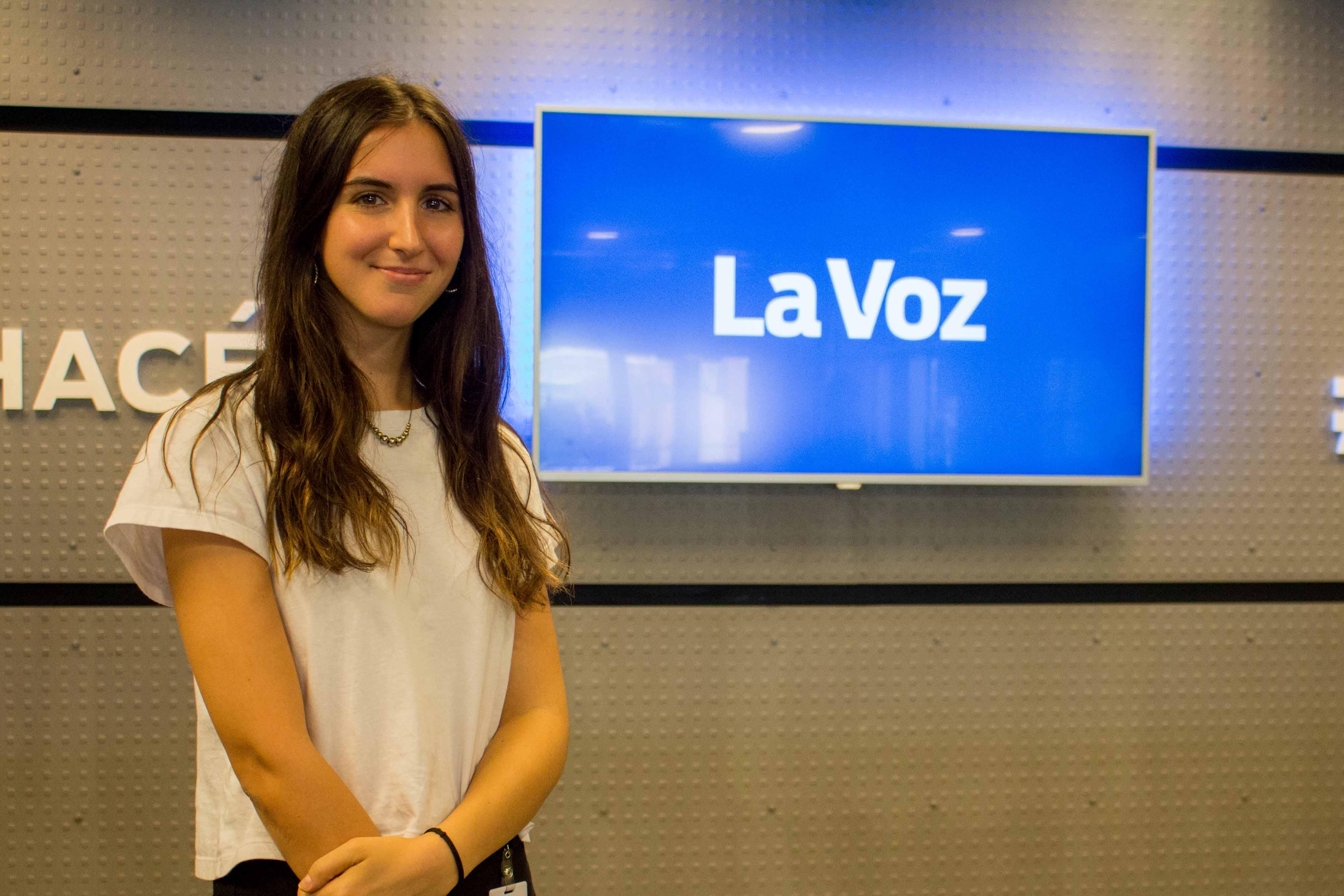Alumna de Comunicación se desempeña en La Voz