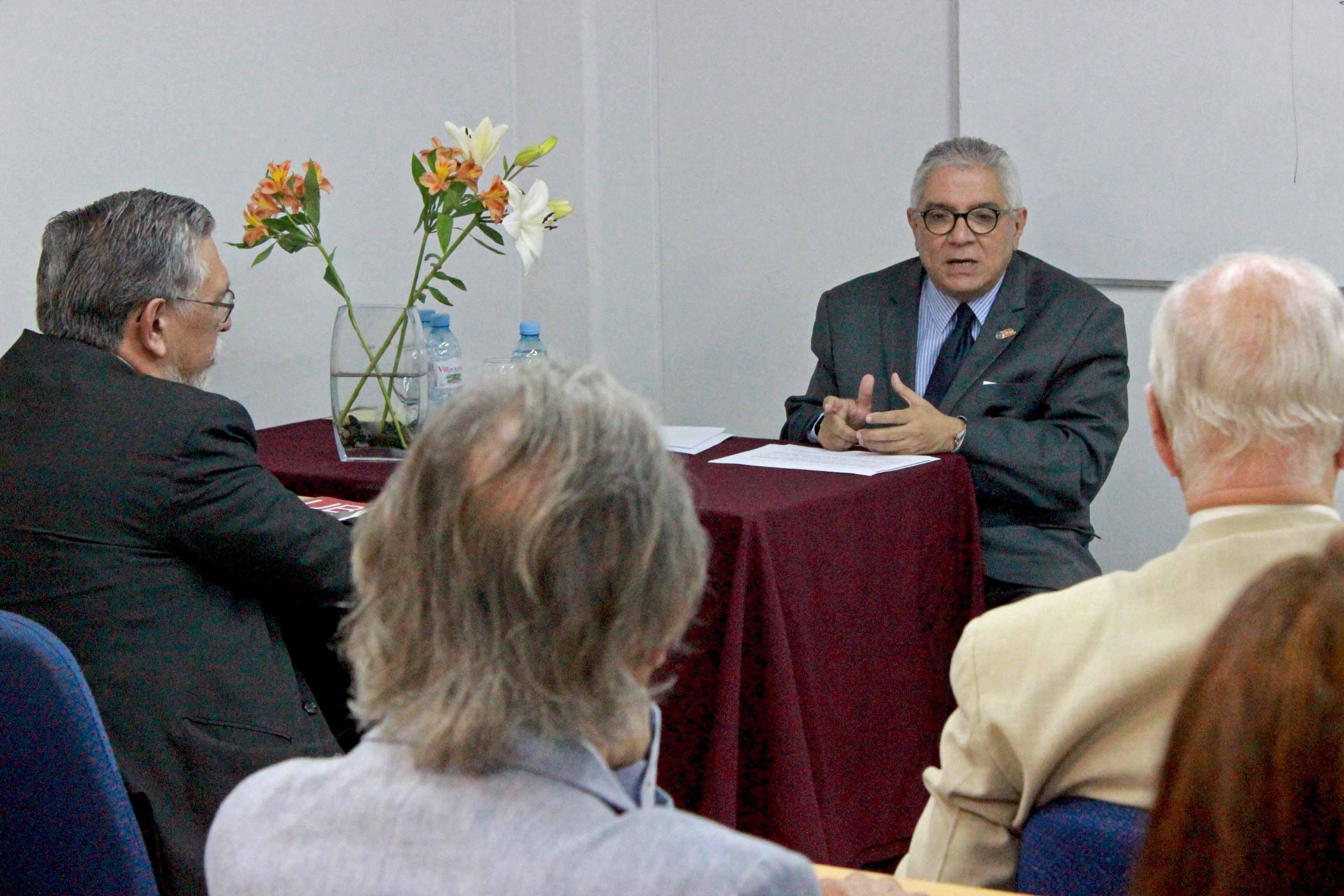 La Organización Internacional del Trabajo visitó a la UBP