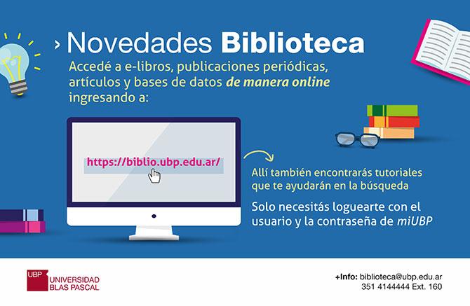 ¿Buscas información? ¡la Biblioteca te ayuda!