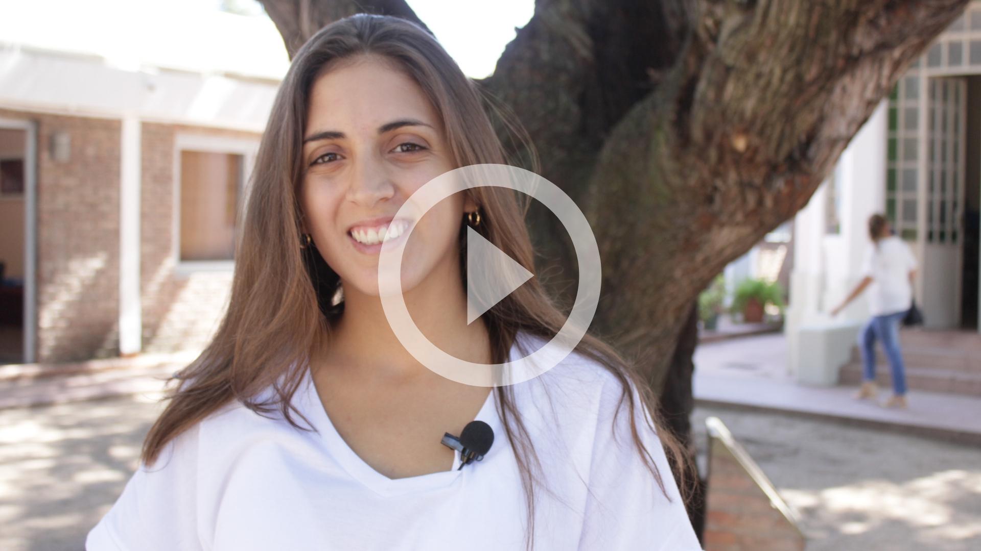 Pasantía: alumna de Ing. afianza sus conocimientos