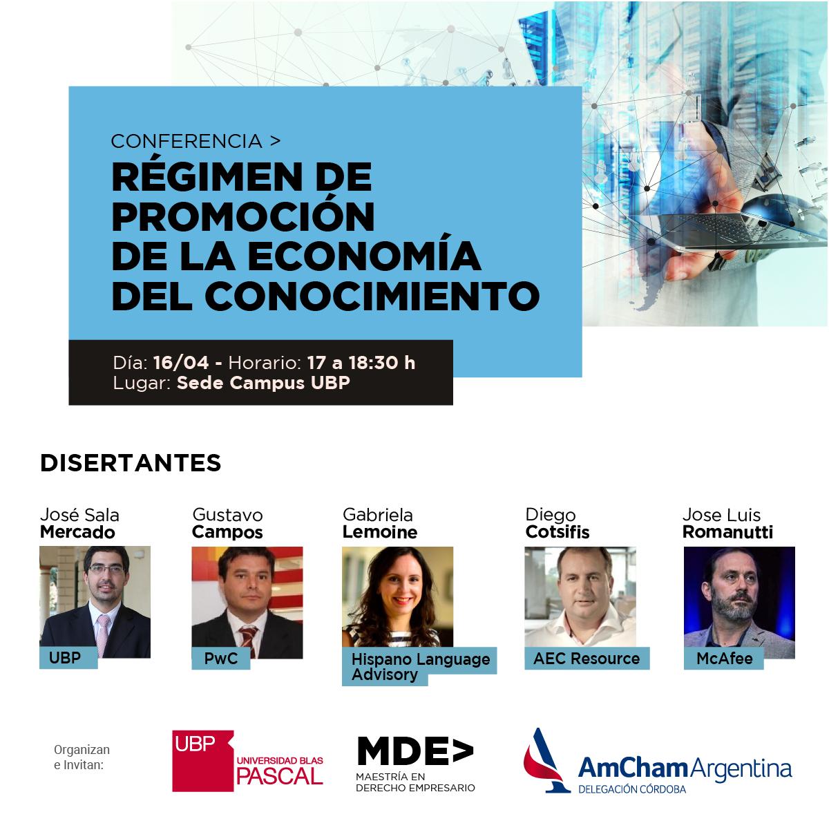 Se debate el Proyecto de Ley del Régimen de Promoción de la Economía del Conocimiento