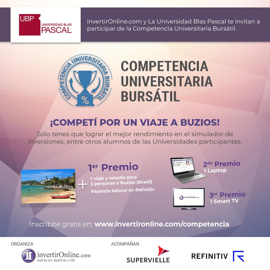 ¡Participá por un viaje a Brasil con la Competencia Bursatil!