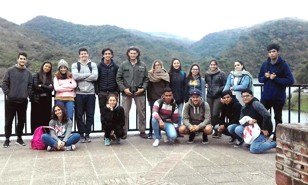 Visita a la reserva hídrica natural Parque La Quebrada