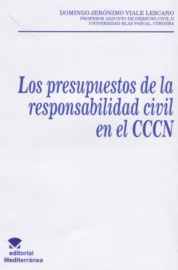 Nuevo libro sobre responsabilidad civil