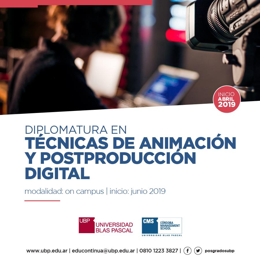 Especializate en animación y postproducción digital