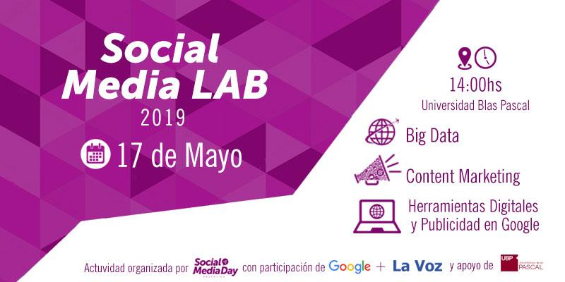 ¡Ya llega el Social Media Lab a Córdoba!