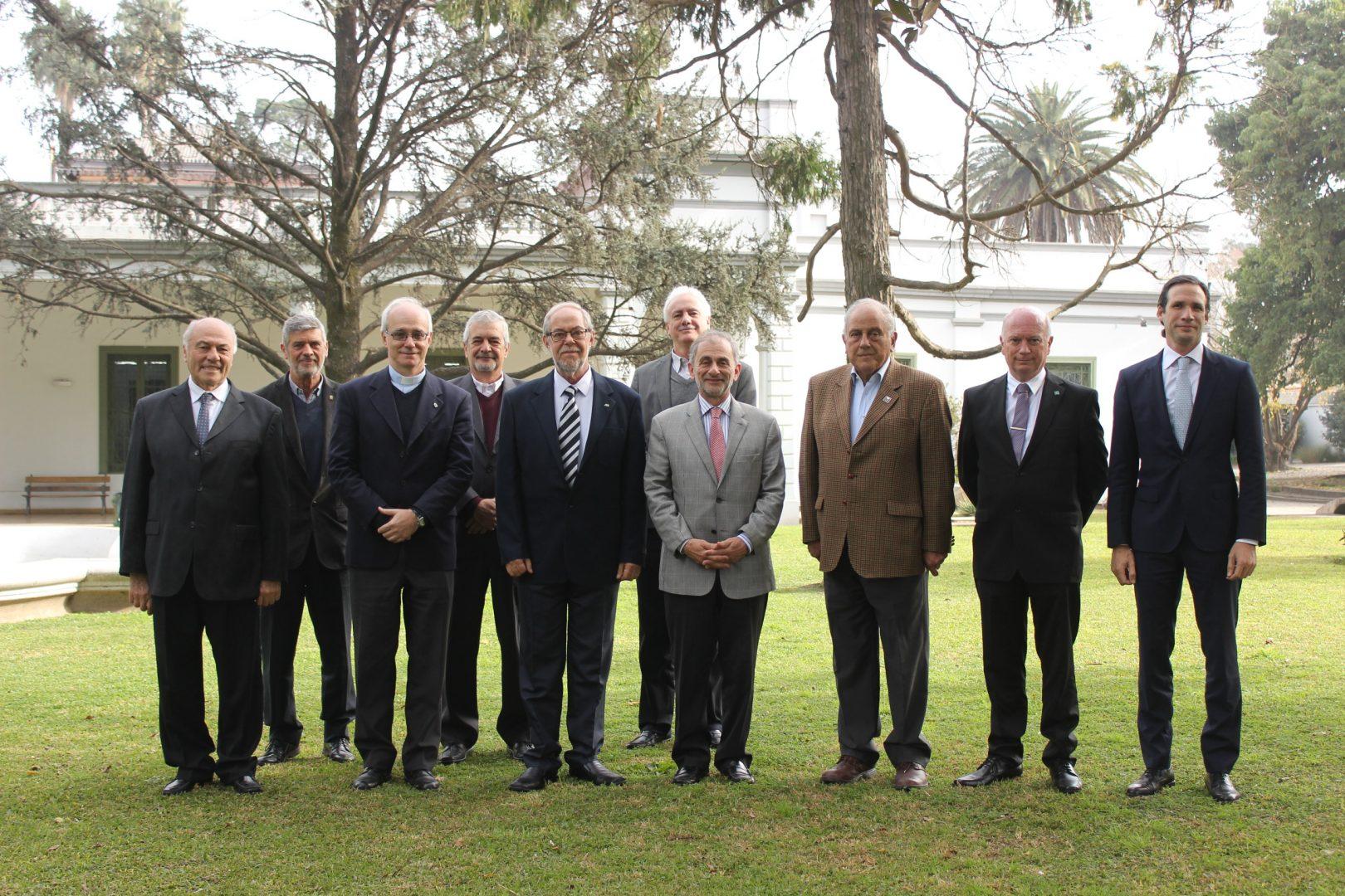 El Rector de la Universidad de Haifa, Israel, visitó la UBP