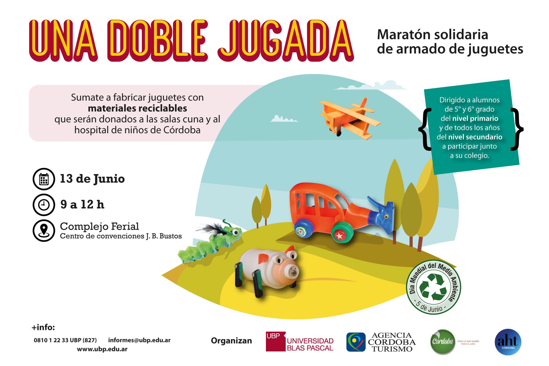 ¡Colaborá en la maratón solidaria de fabricación de juguetes!