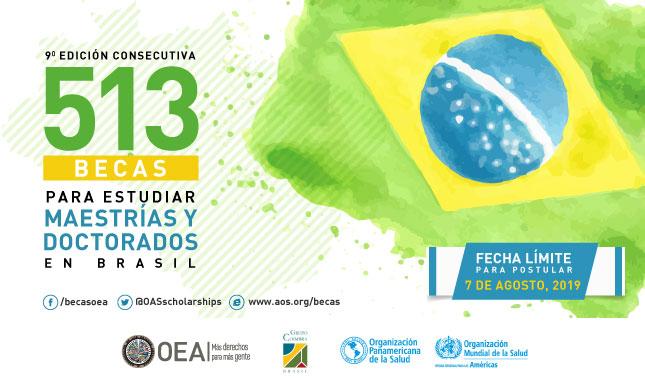 Realizá estudios de posgrado en Brasil