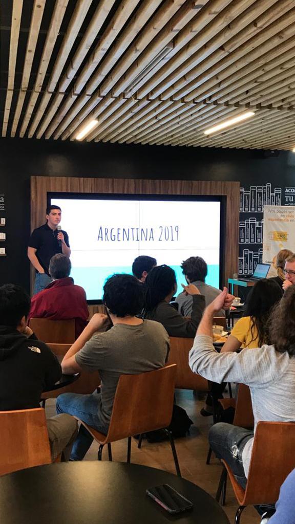 Alumnos de intercambio finalizan su experiencia profesional en Córdoba