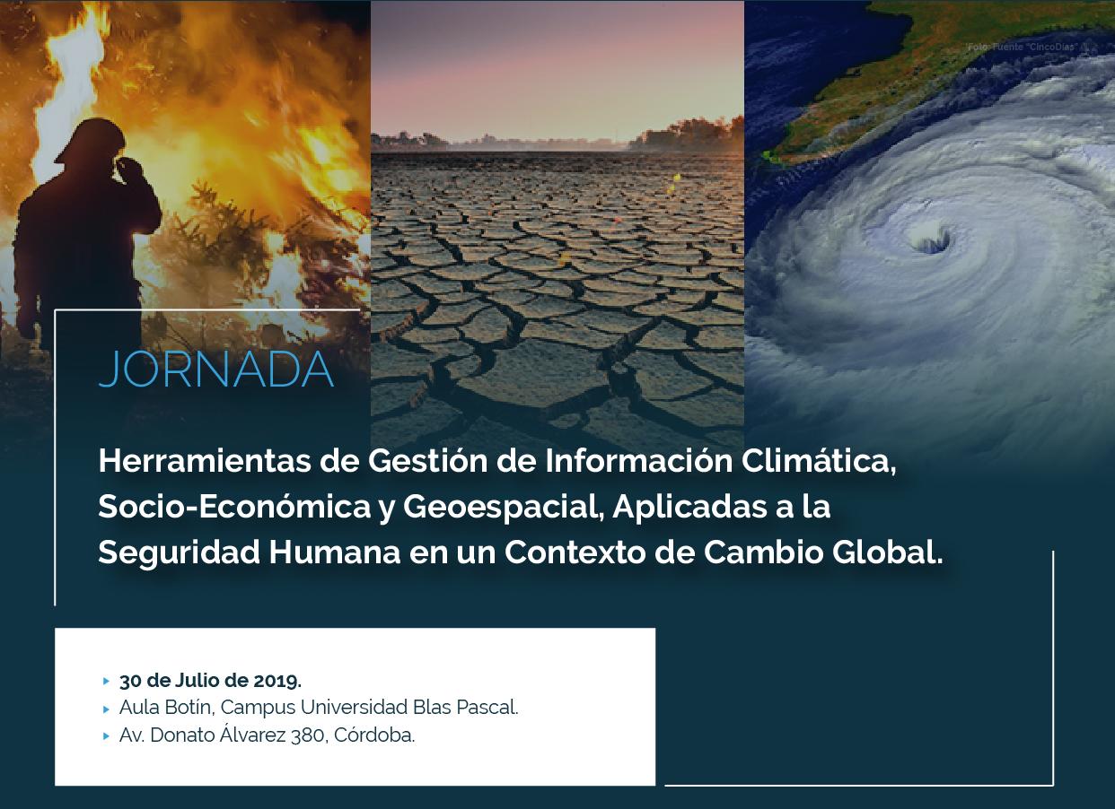 Jornada: Herramientas de Gestión de Información Climática