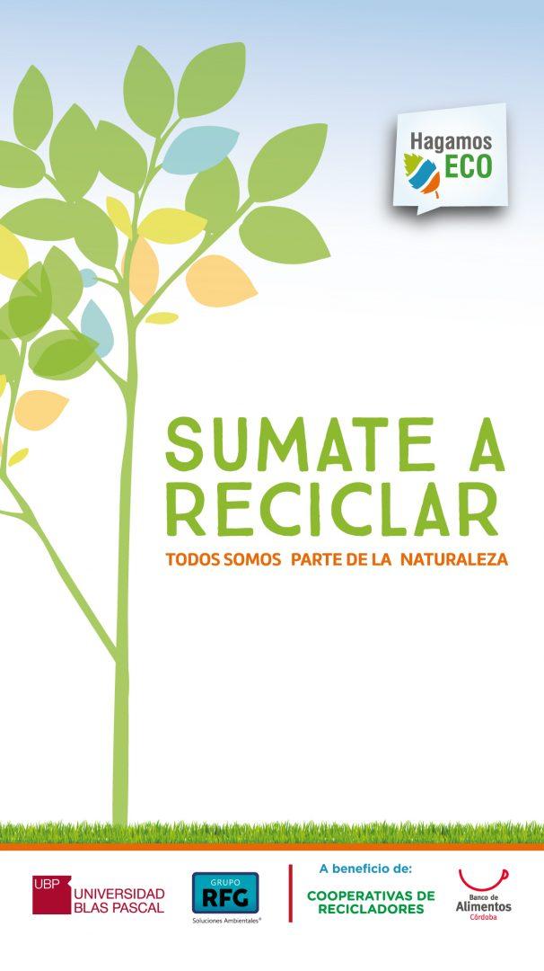 Sumate a reciclar en el campus UBP