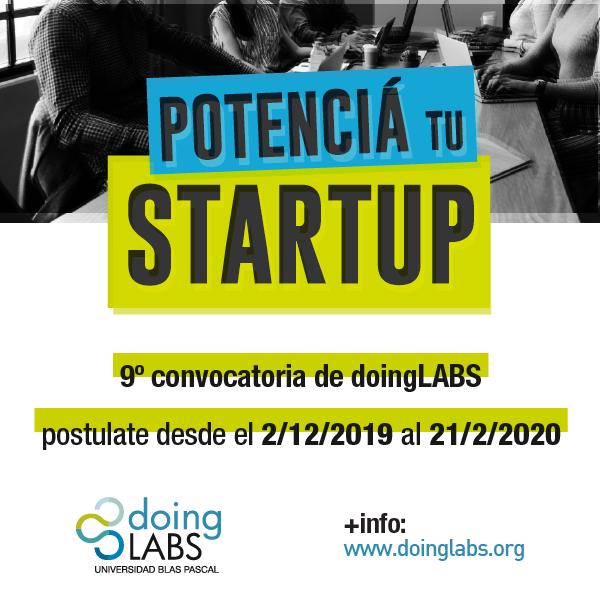 Convocatoria de doingLABS para emprendedores