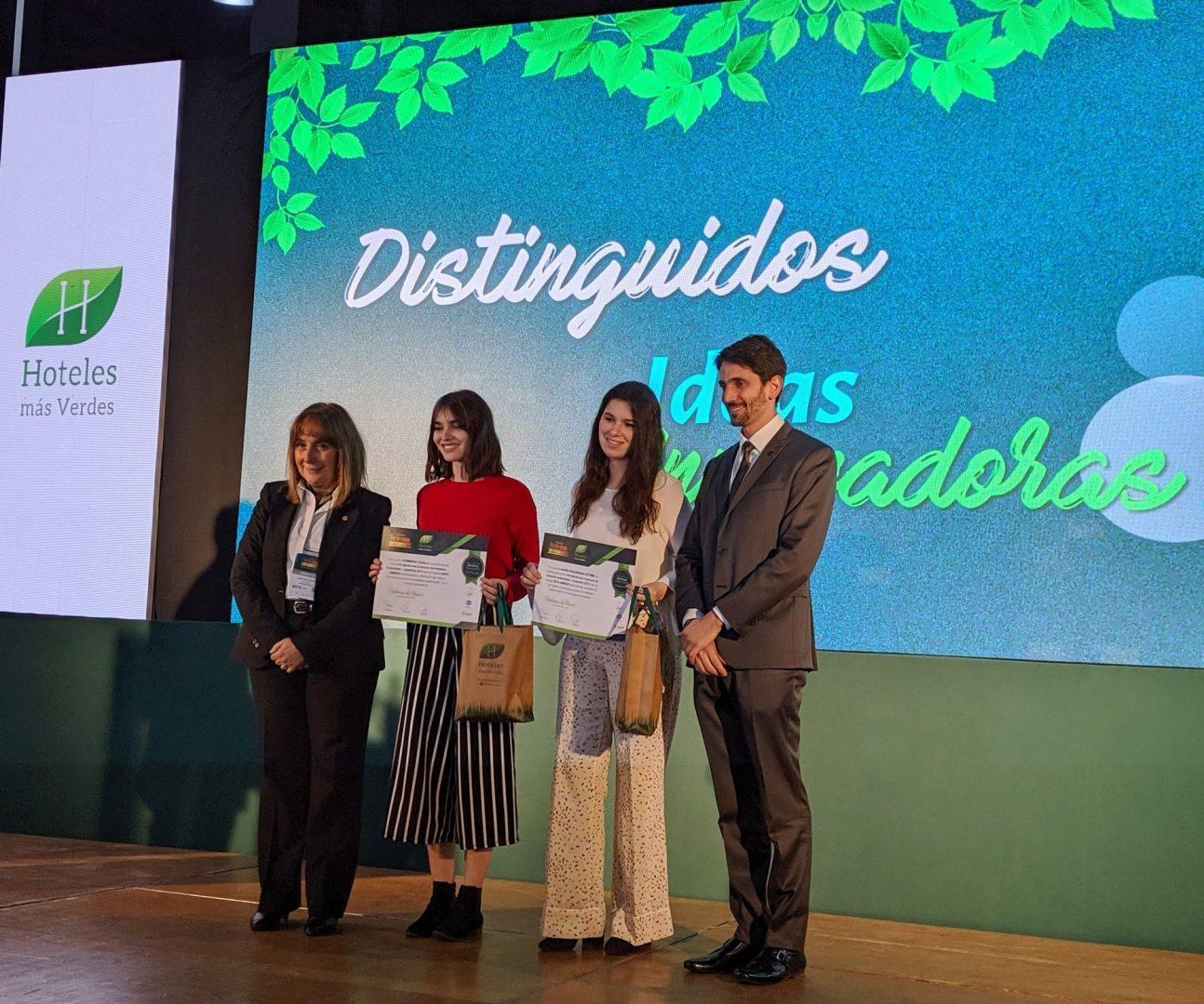 Alumnas ganan el 1er puesto del Concurso Hotelería Sustentable