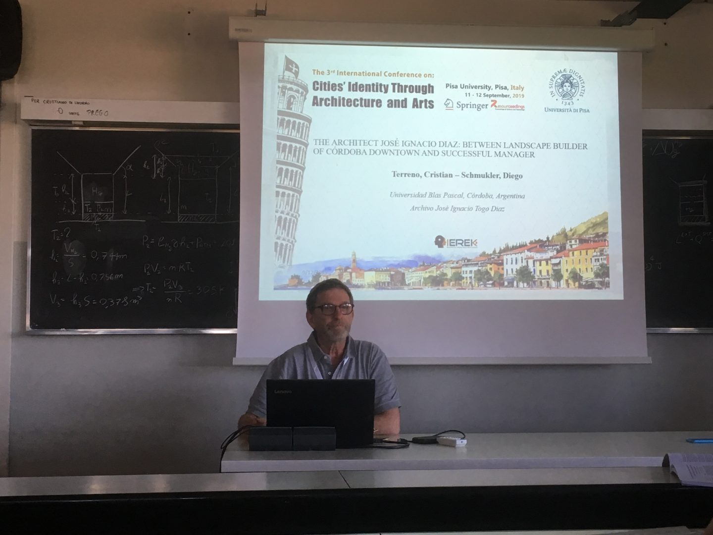 Schmukler expuso en Italia sobre el Togo Díaz