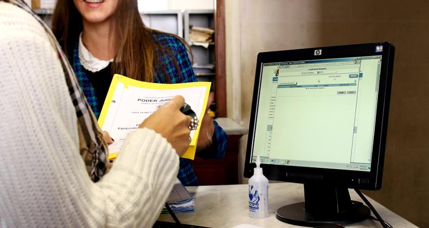 Concurso para trabajar en el Poder Judicial de Córdoba