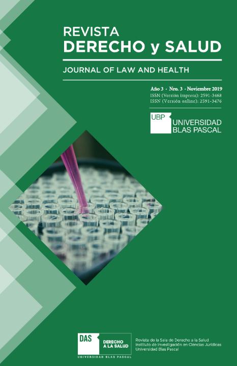 ¡Ya está disponible la 3ra edición de la Revista Derecho y Salud!