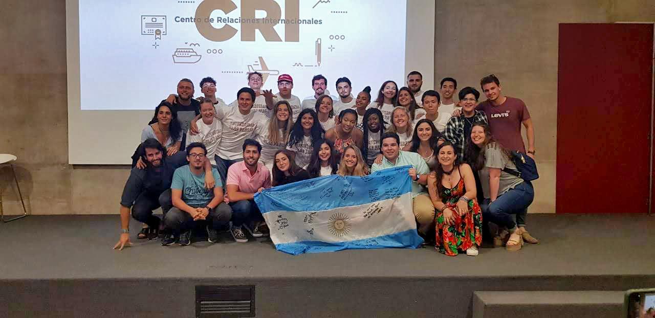 Estudiantes de intercambio celebraron su paso por la UBP