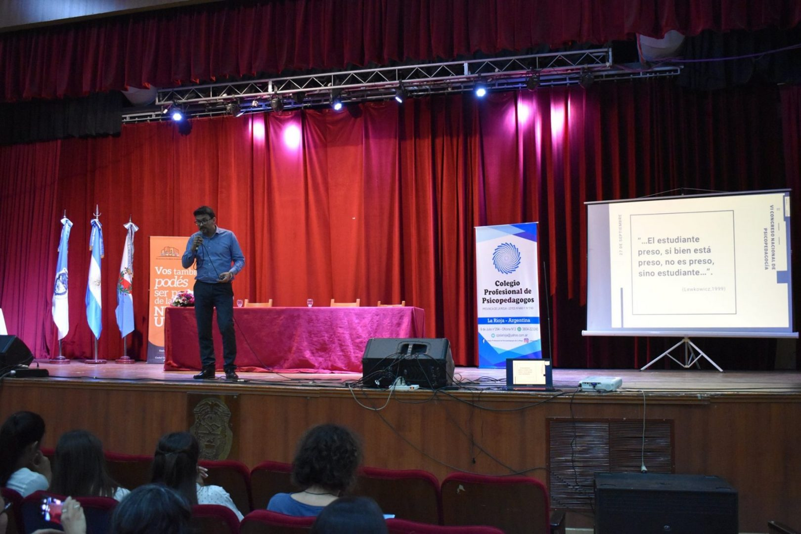 Cruz Álvarez llevó su experiencia a La Rioja