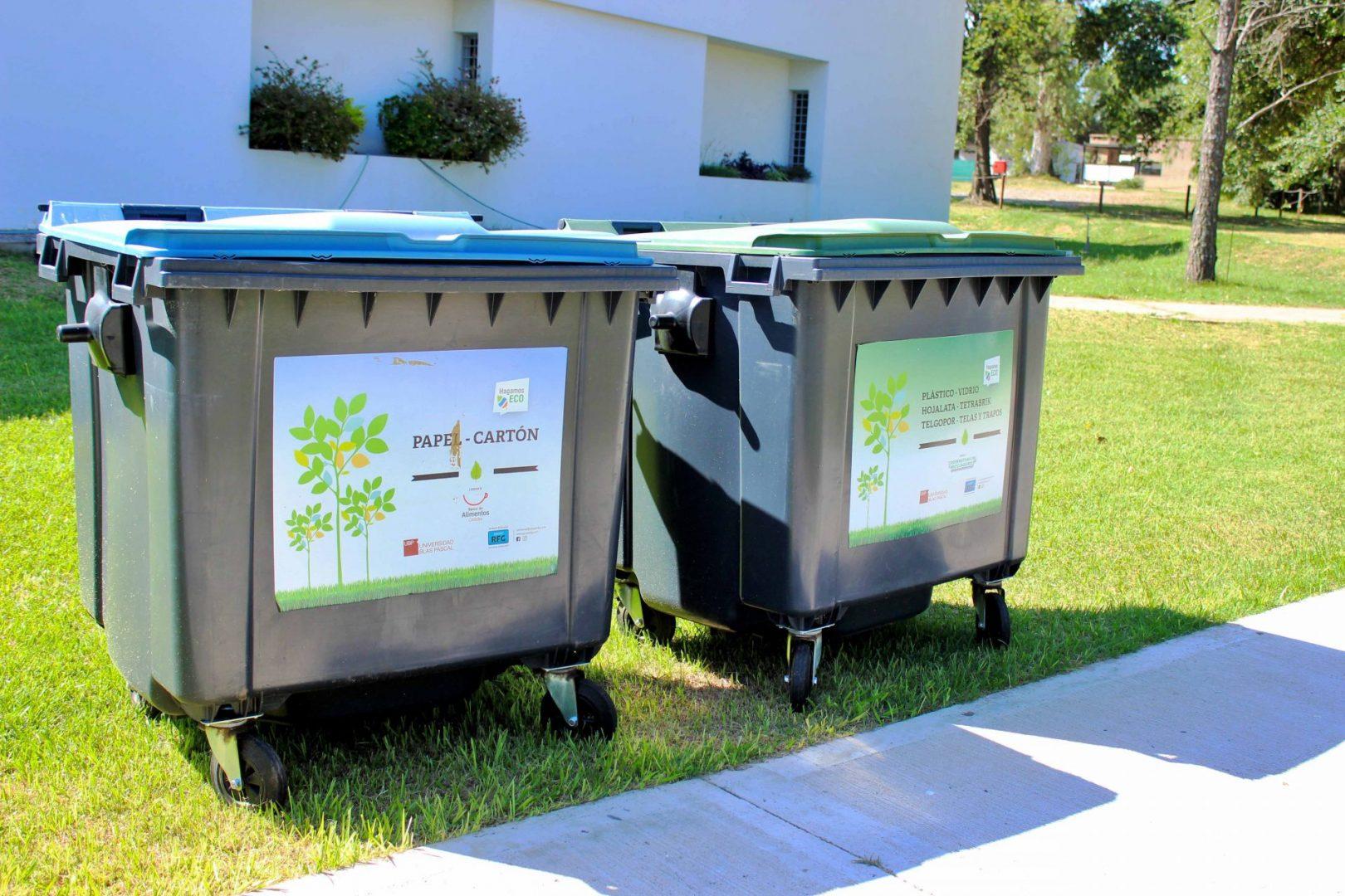 UBP sostenible: continua el plan de reciclaje social