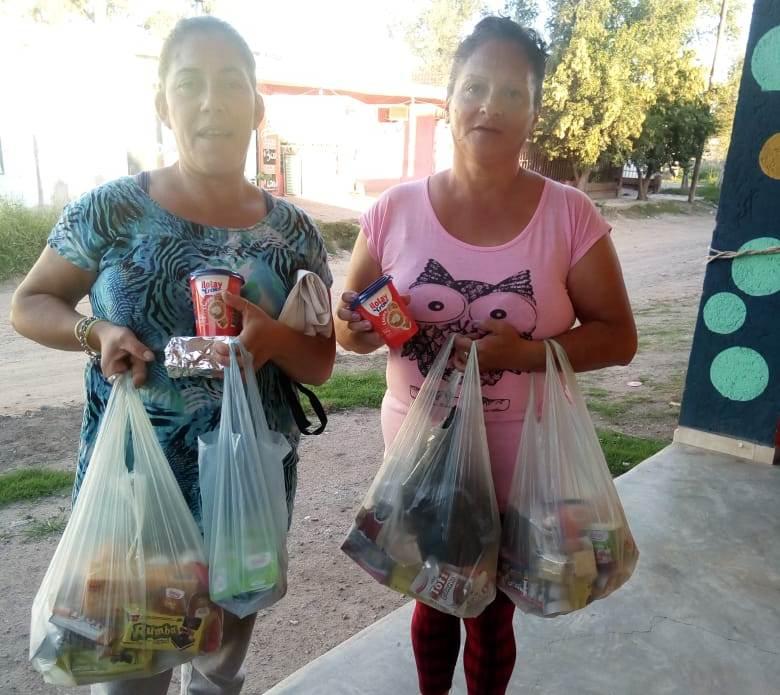 La UBP brindó ayuda al Merendero Mis Pimpollos para afrontar la crisis sanitaria