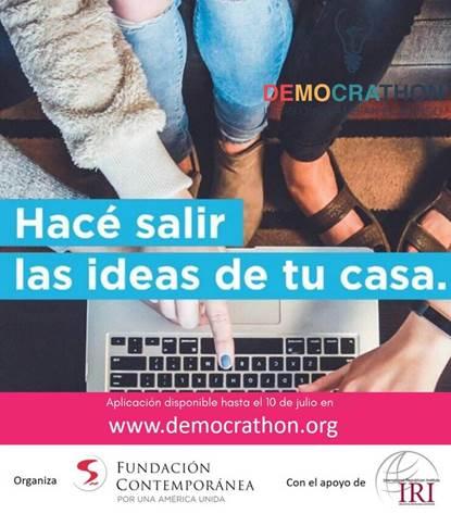 Democrathon: programa para emprendedores sociales