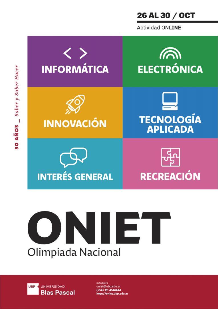 Estudiantes de todo el país se reúnen en las ONIET