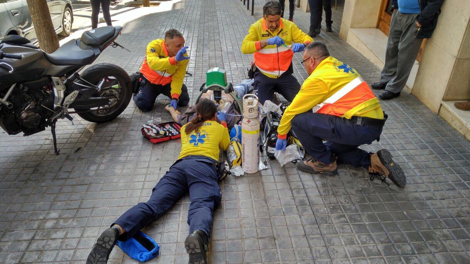 Estudiantes presentan proyecto para la gestión de accidentes con víctimas múltiples