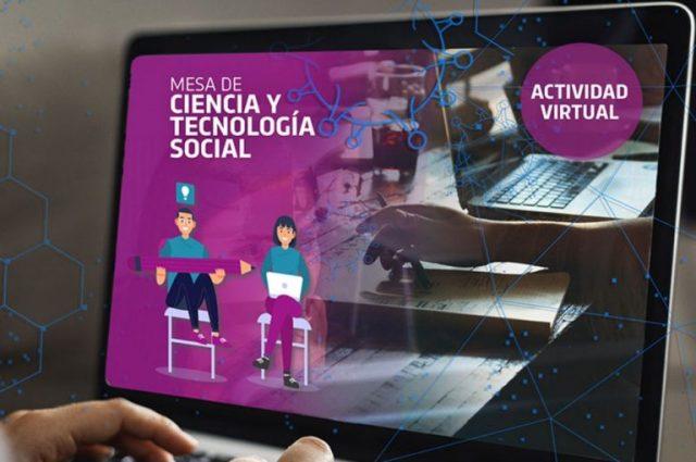 Inscripciones abiertas para las Mesas de Ciencia y Tecnología Social