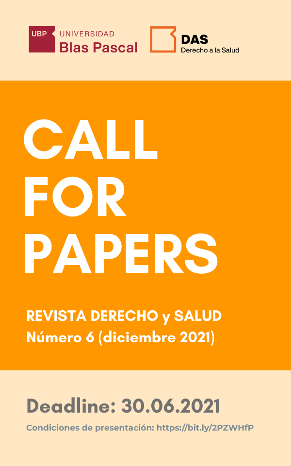 Call for Papers – Núm. 6