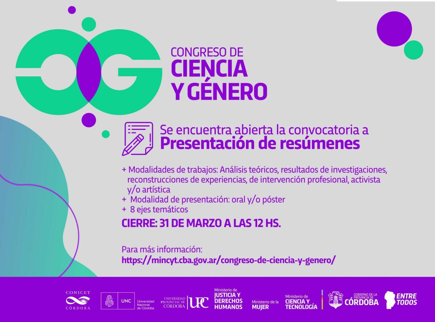I Congreso de Ciencia y Género en Córdoba