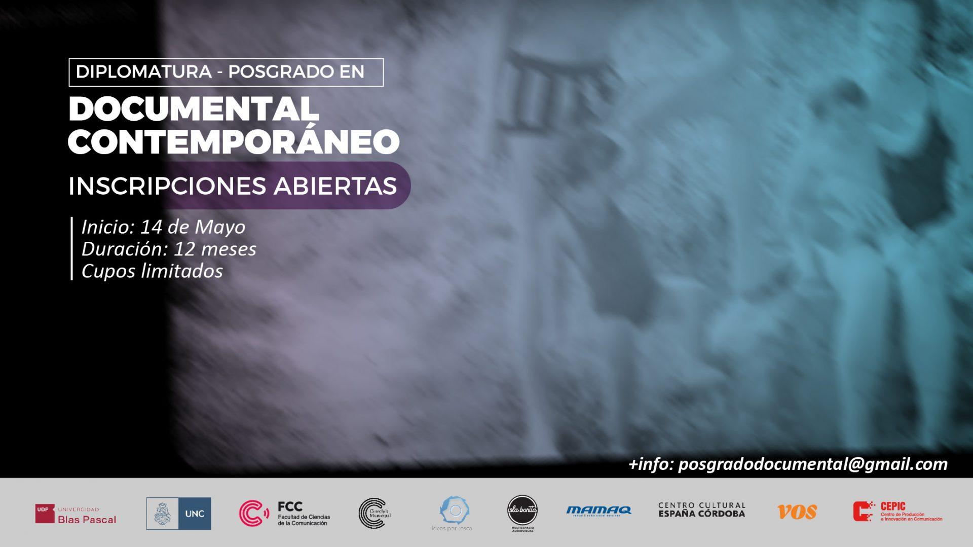 Inscripciones abiertas: Posgrado en Documental Contemporáneo