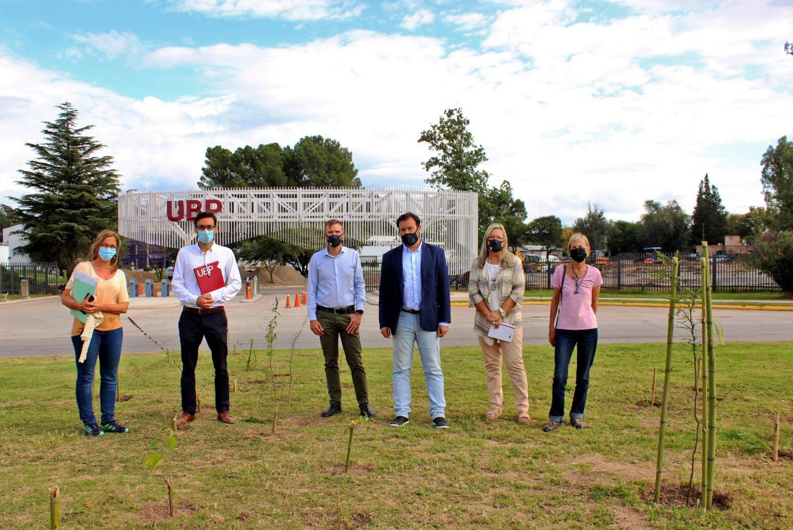 La UBP apadrina espacios verdes cercanos al Campus