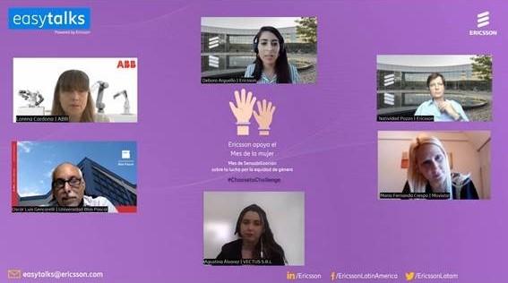 """""""Easy Talks"""": la equidad de género en entornos laborales"""
