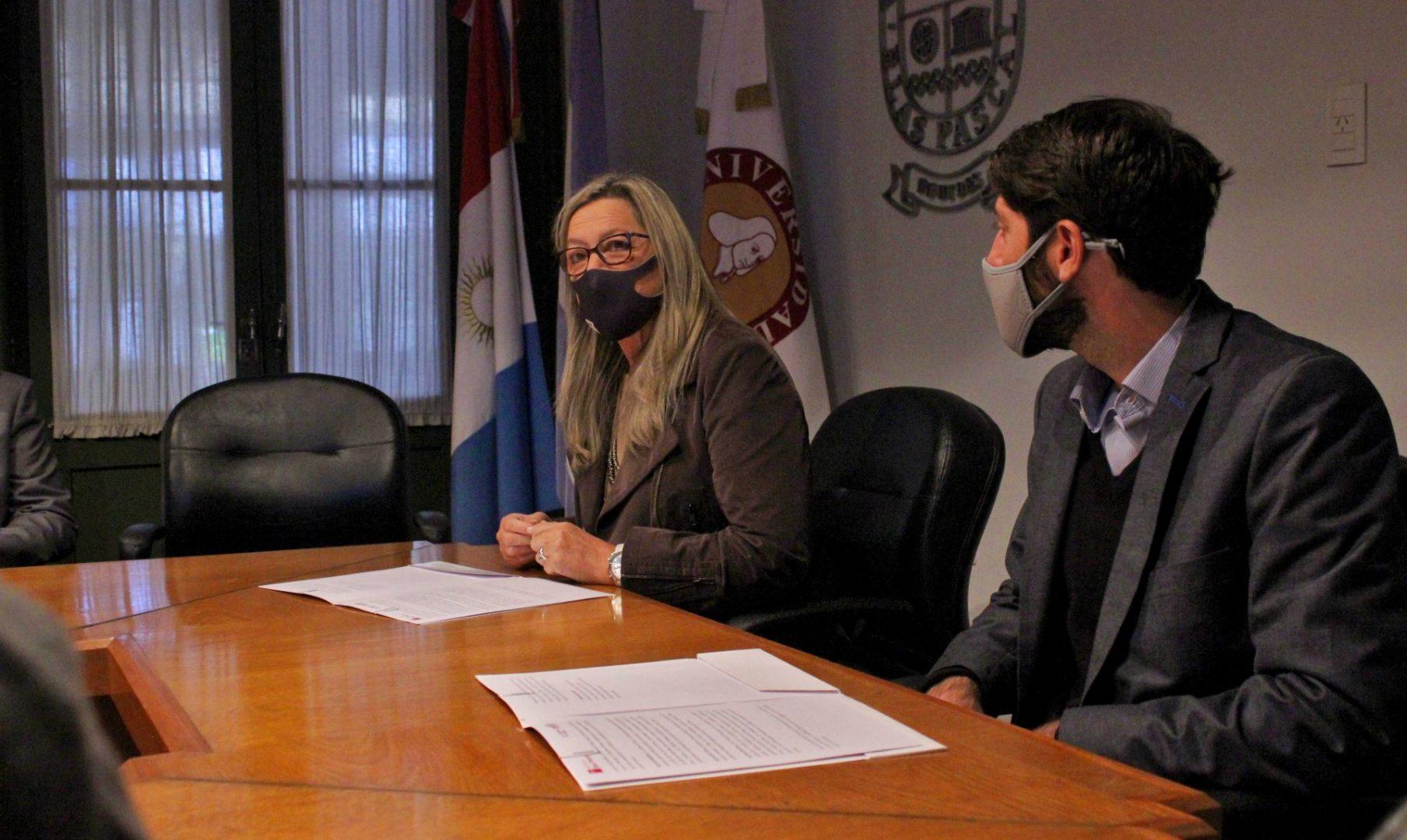 Integrantes de la Legislatura tomarán cursos de la UBP