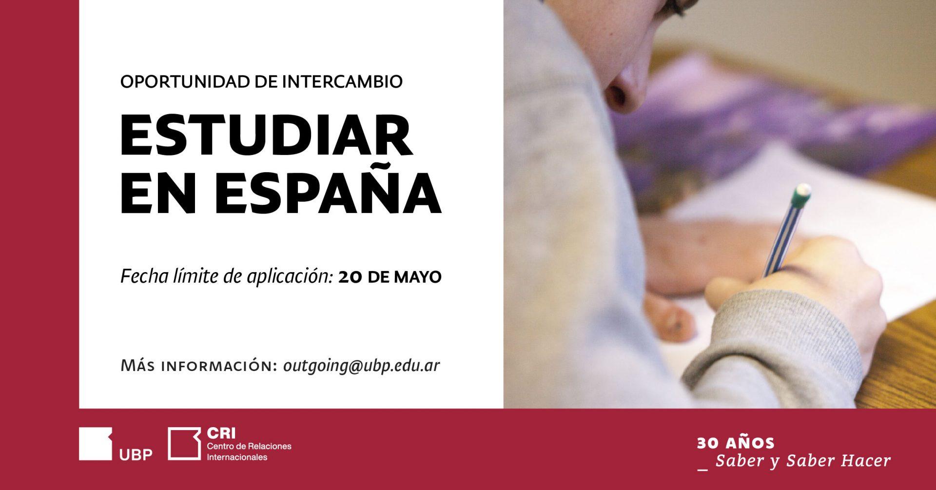 ¡Oportunidades de intercambio: estudiá en España!