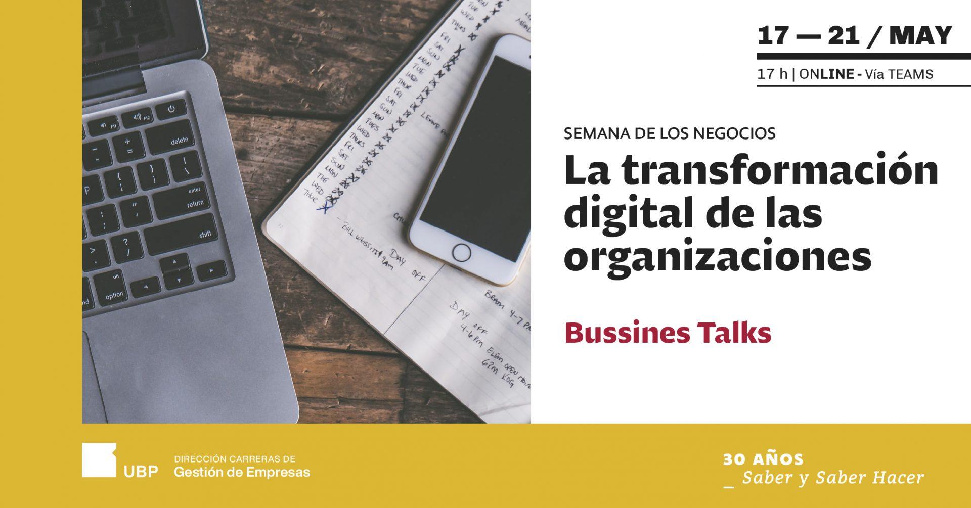 Semana de los Negocios: la transformación digital en organizaciones