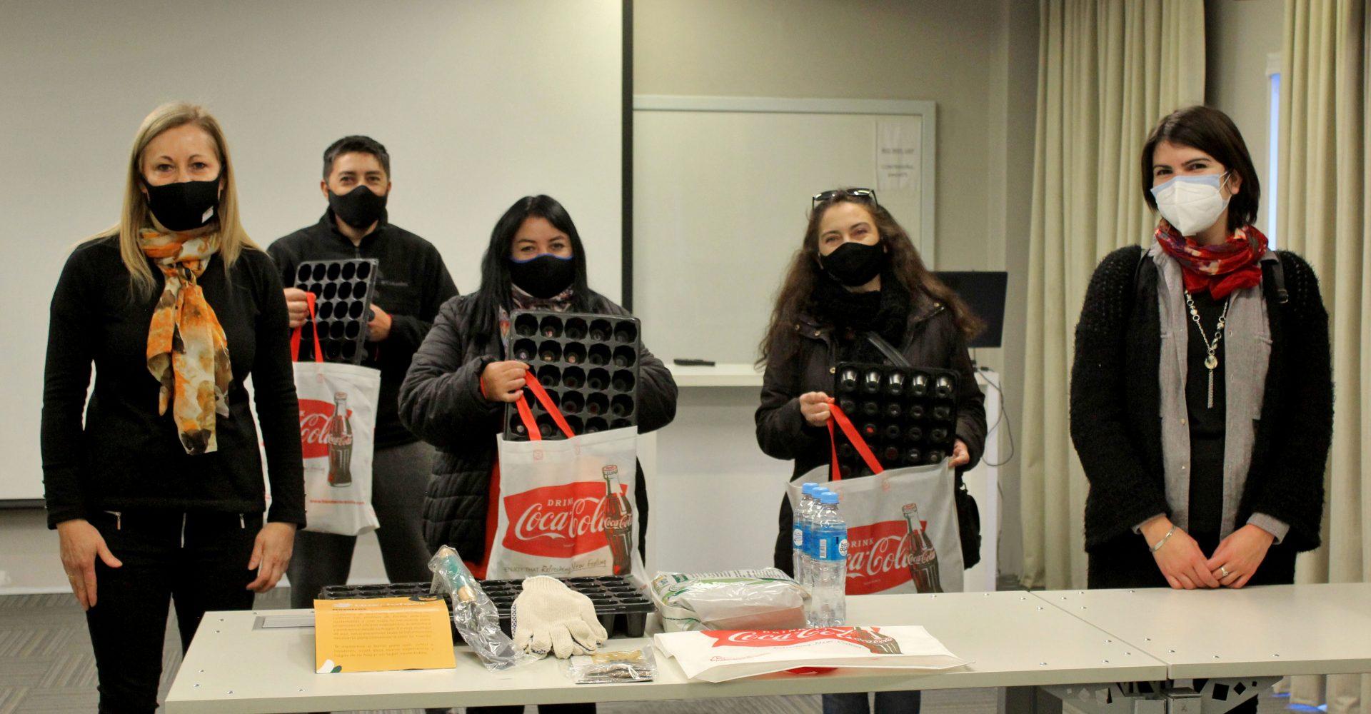 Soberanía alimentaria: se entregaron los kits del taller de huerta a merenderos