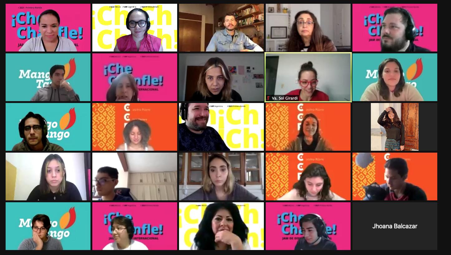 ¡Che Chanfle! Jam de Diseño Internacional, una experiencia intercultural